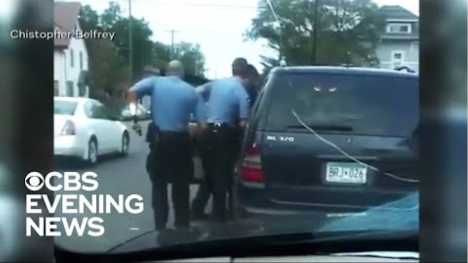 New video shows Minneapolis police arrest of George Floyd before death