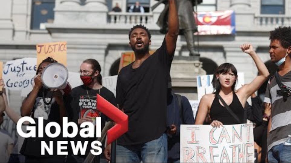 George Floyd death: 3rd evening of protests in Minneapolis | FULL