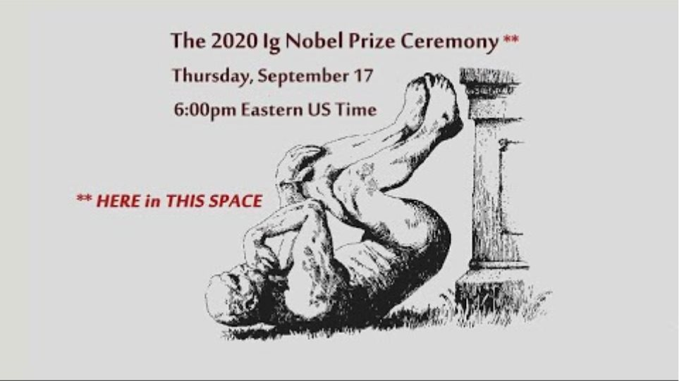 The 30th First Annual Ig Nobel Prize Ceremony