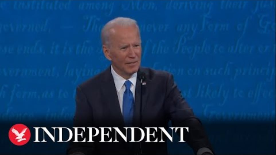 Biden slams Trump's COVID-19 failure: 'People are learning to die with it'