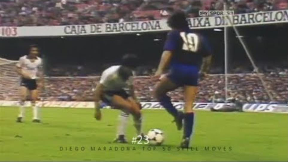 Diego Maradona Top 50 Amazing Skill Moves Ever   Is this guy the best in history? D10S
