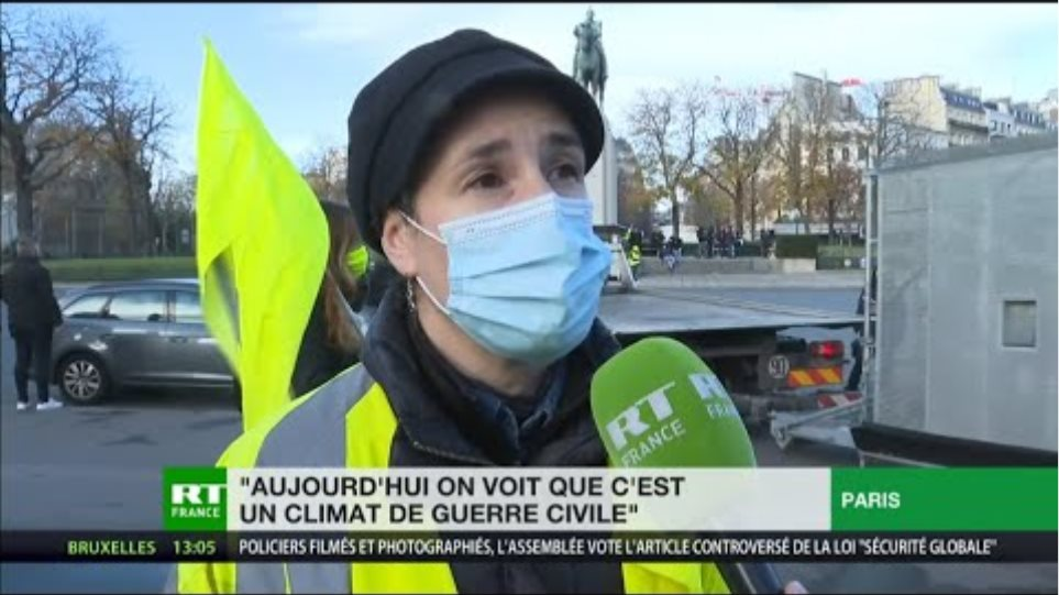 France: Protesters gather against