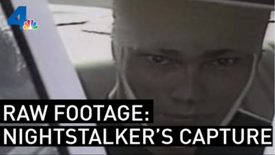 Raw Footage of The Nightstalker's Capture | From the Archives | NBCLA
