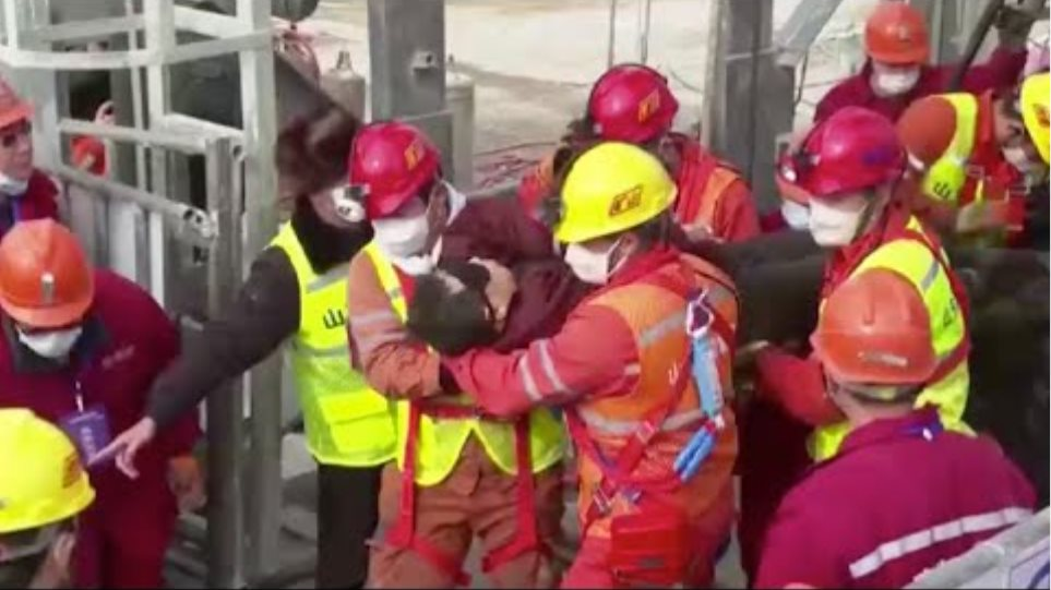 11 miners rescued after 14 days trapped underground in E China