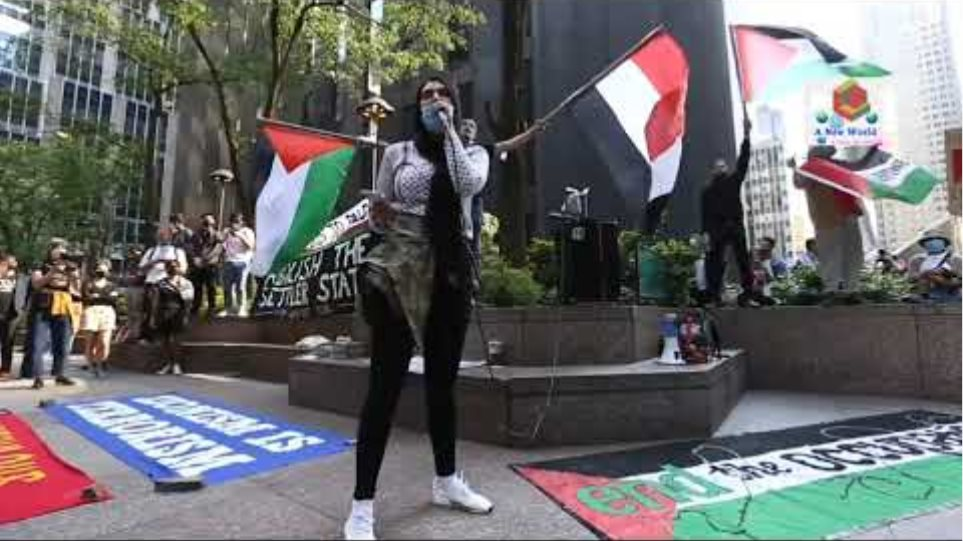USA Palestine Protesters Burn Israeli Flag As They Protest Attacks In New York | Latest News Update