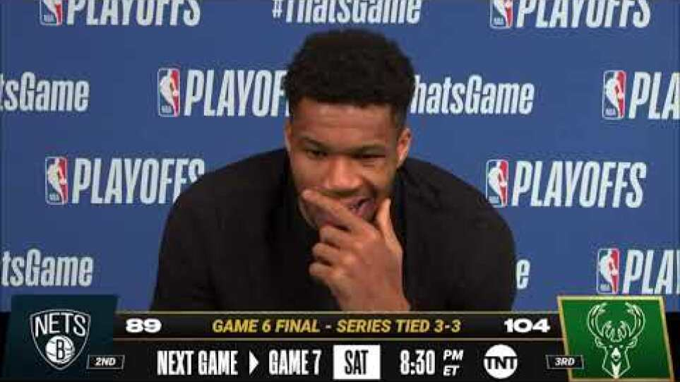 Giannis on Forcing Game 7! 🎙| Postgame Press Conference