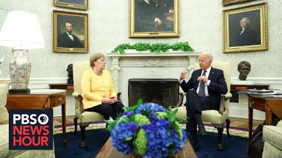 WATCH LIVE: Biden and German Chancellor Angela Merkel hold joint press conference