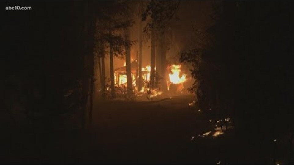 California's largest wildfire destroys multiple homes, forces tens of thousands to evacuate