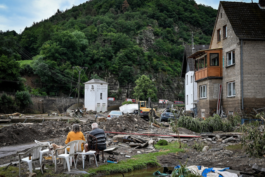 'Catastrophic' flooding hits western Germany leaving dozens dead