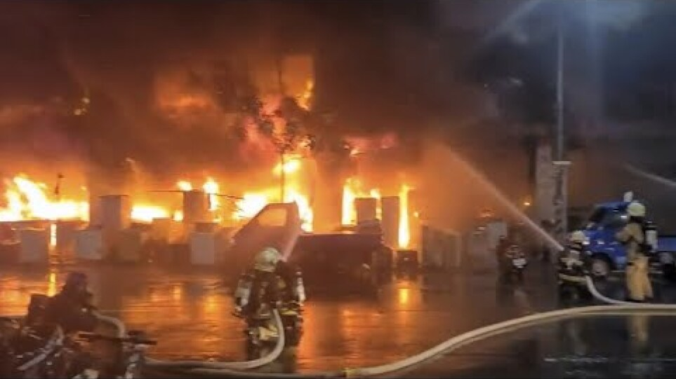 Dozens killed in building fire in China's Taiwan